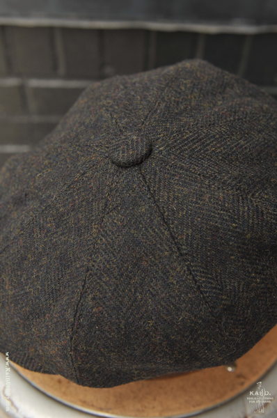 Peaky Hat -  English Tweed Forest - M, L, XL