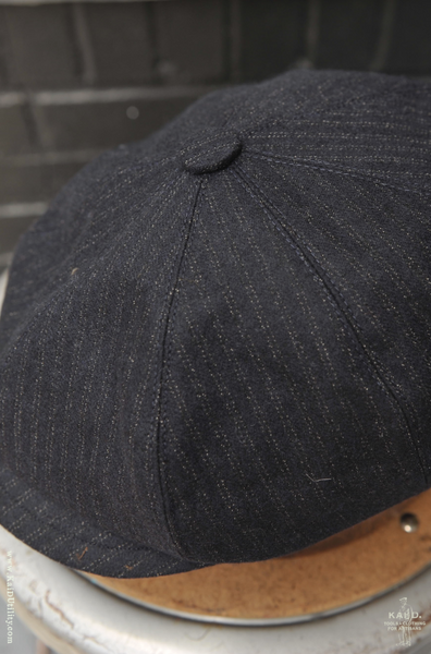 Peaky Hat -  Vintage Striped Wool - M, L, XL