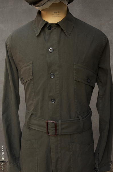 Cotton Twill Flight Suit - 44, 46, 48