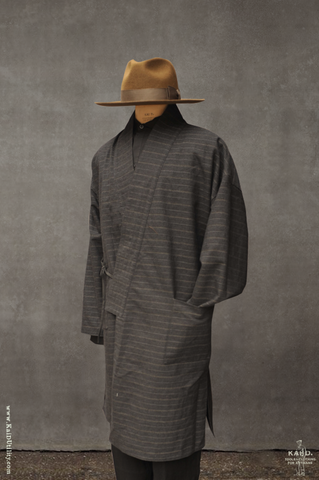 Full Length Japanese Farmer Coat - Kanazawa - Medium