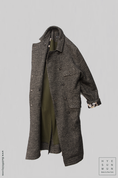 Keaton Trench Coat - Japanese Tweed - XS, S, M