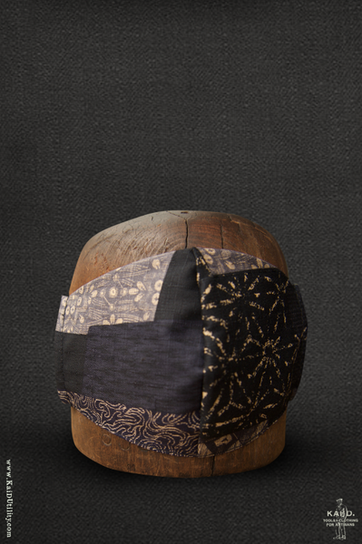 Cloth Face Mask - Boro Patchwork E2