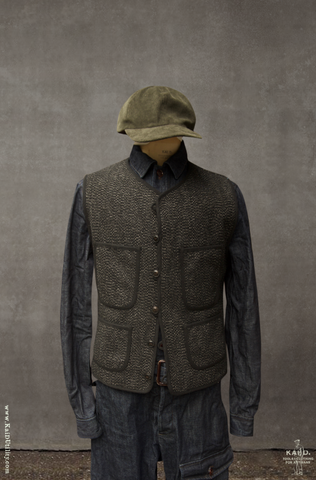 Cruiser Vest - Vintage Tweed - M