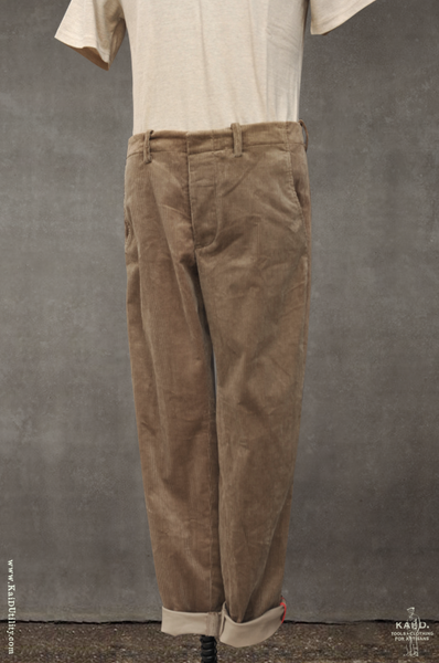 Borough Pants - Tan Corduroy - 30, 32, 34, 36