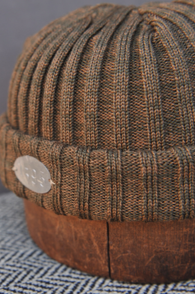 Ribbed Beanie - Earth