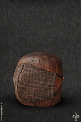 Cloth Face Mask -  Aged Linen Plaid