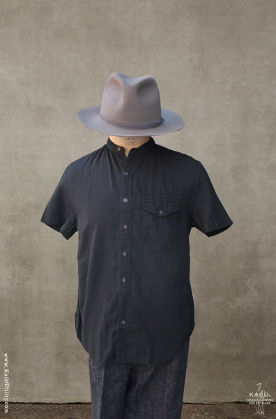 Artisan Twill Buck Shirt - Vintage Black - M, XL