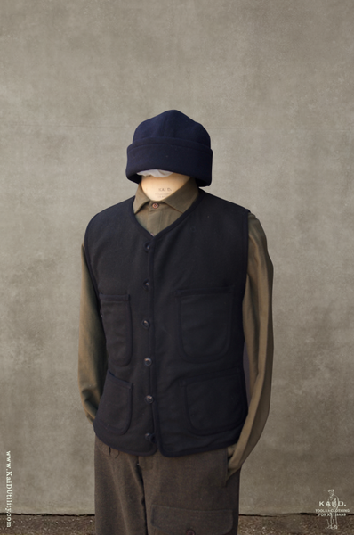 Cruiser Vest - Boiled Wool - M, L