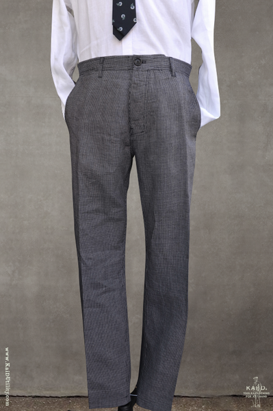 Fred Slim Fit Trousers - River - M, L, XL