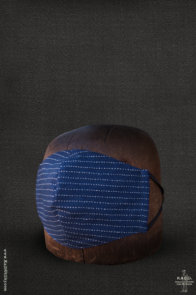 Cloth Face Mask -  Wabash Stripe Cotton