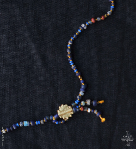 Handmade Beaded Necklace - Giza