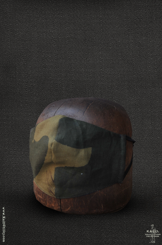 Cloth Face Mask -  Linen Camouflage
