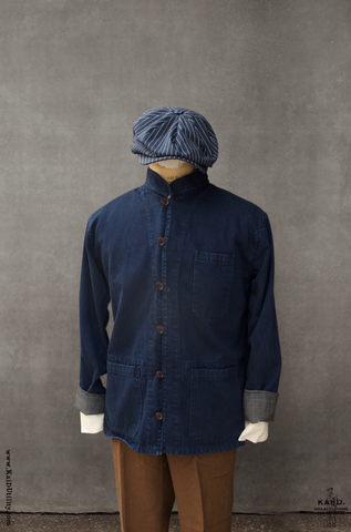 Denim Baker Jacket - Super deep indigo - S, M, L, XL
