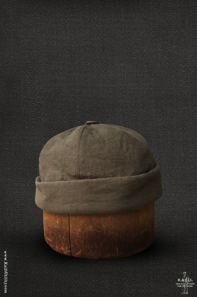 Watch Cap - Belgian linen - L