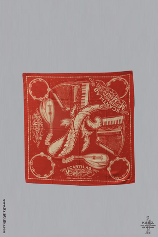 Cotton Bandana - Red
