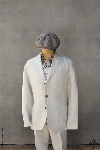 Shoemaker's Jacket - Herringbone Linen - M, L