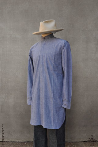 Damon Long Shirt - Dressy Chambray - M, L, XL