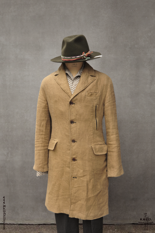 Garment Dyed Shelby Coat - Vintage Khaki - M, L, XL