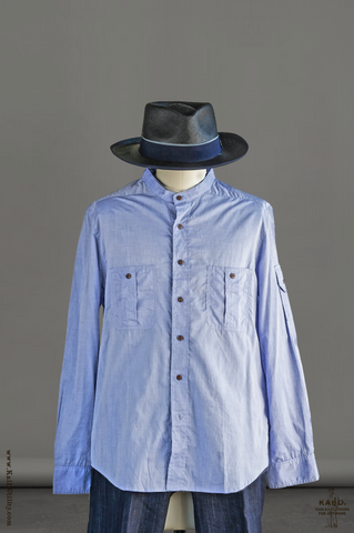 Cotton Lawn Tangier Shirt - XL