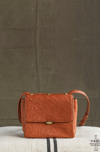 Vesper Leather Bag - Burnt Orange