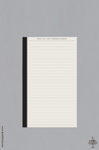 Notepad - Lined