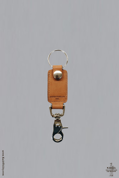 Rein Clip Key Fob - London Tan