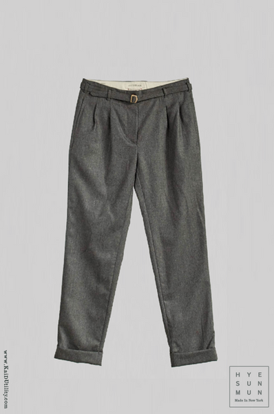 Wool Cashmere McCartney Belted Pants