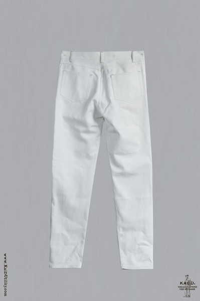 English Cotton Jeans - Offwhite