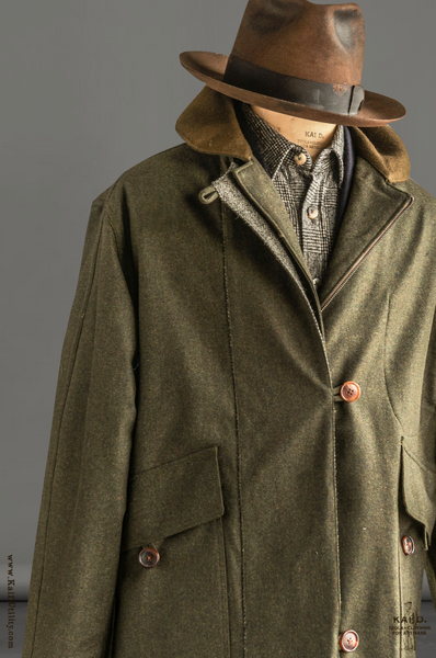 Shoreline Coat - Bonded Wool