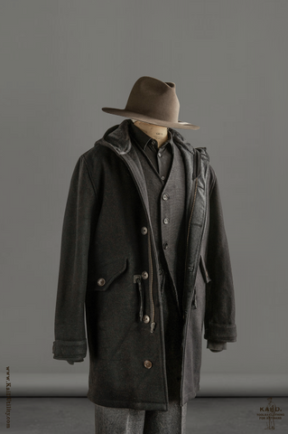 Wool Shackleton Coat