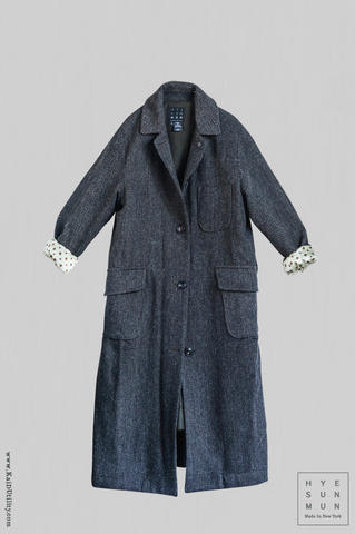 Sontag Wool Tweed Coat - Small