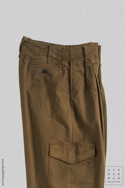 Stretch Moleskin Cargo Pants