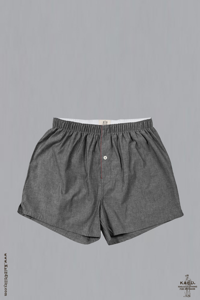 Woven Boxer - Japanese Chambray