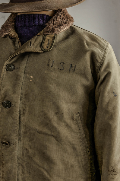 USN Deck Jacket - S