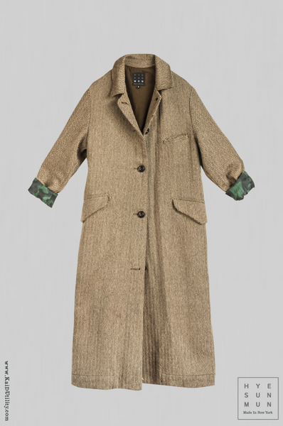 Sontag Silk Wool Coat - Small