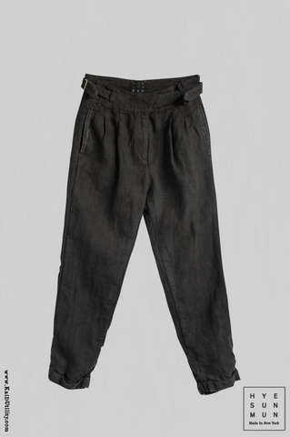 Vintage Wash Isa Pants - Black
