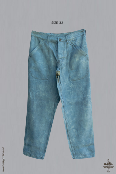Fatigue Pants in Vintage Fabric - Faded Indigo