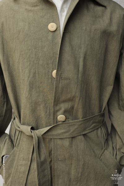 All Season Trench Coat - Artichoke - M