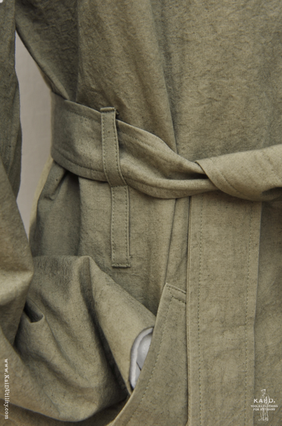 All Season Trench Coat - Artichoke - M, L
