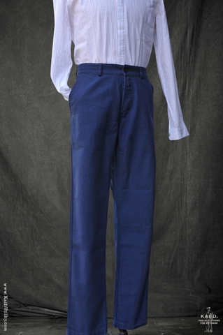Dungaree Pants - French Blue - 32, 34, 36