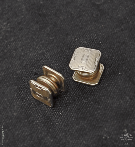 Vintage Art Deco Snap Cufflinks