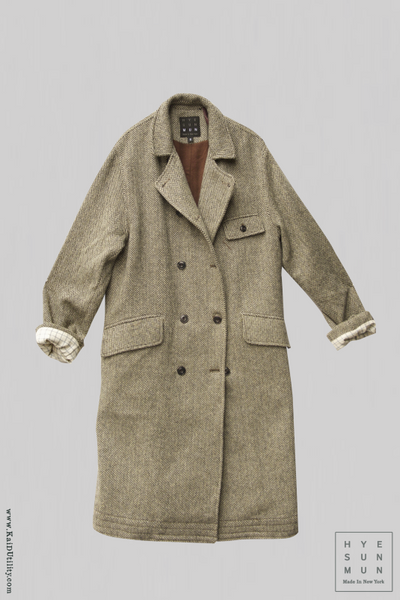 Keaton Trench Coat - Wool Cashmere - XS, S