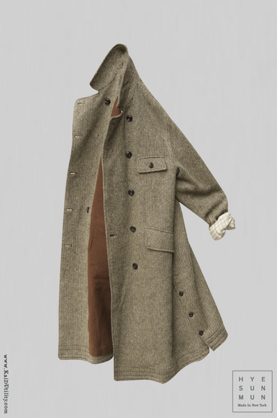 Keaton Trench Coat - Wool Cashmere - XS