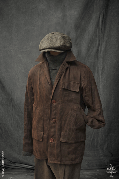 Oil Wax Cotton Boulder Jacket - M, L, XL