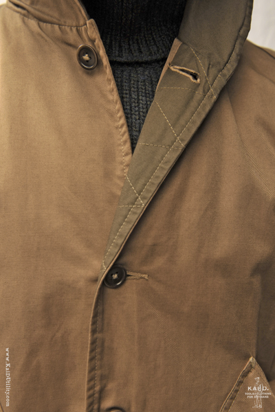 Waxed Cotton Chester Jacket - M