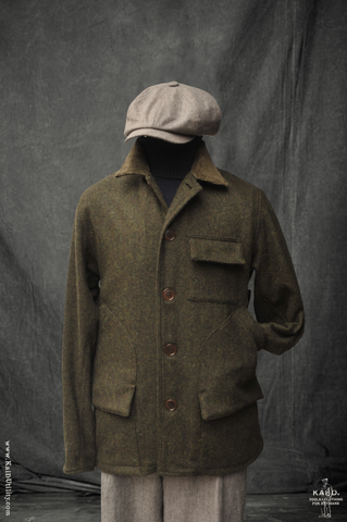 Wool Tweed Boulder Jacket - S, M, L, XL