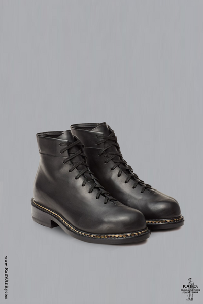 Braided Lace Up Boot - 42 to 44