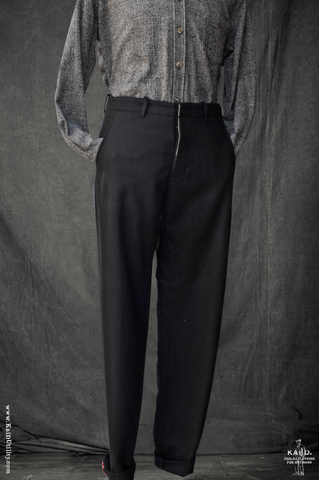 Super Soft Wool Borough Pants - Black - 30, 32, 34, 36
