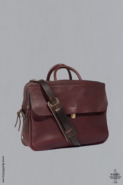 Zeppo Business Bag - Peat
