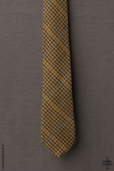 English Tweed Tie - Tan